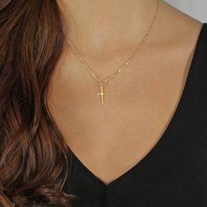 Jewelry - 4/$25 Dainty Cross Necklace